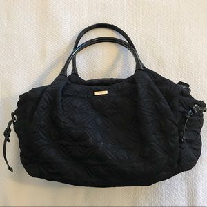 kate spade Quilted Diaper Bag - Black